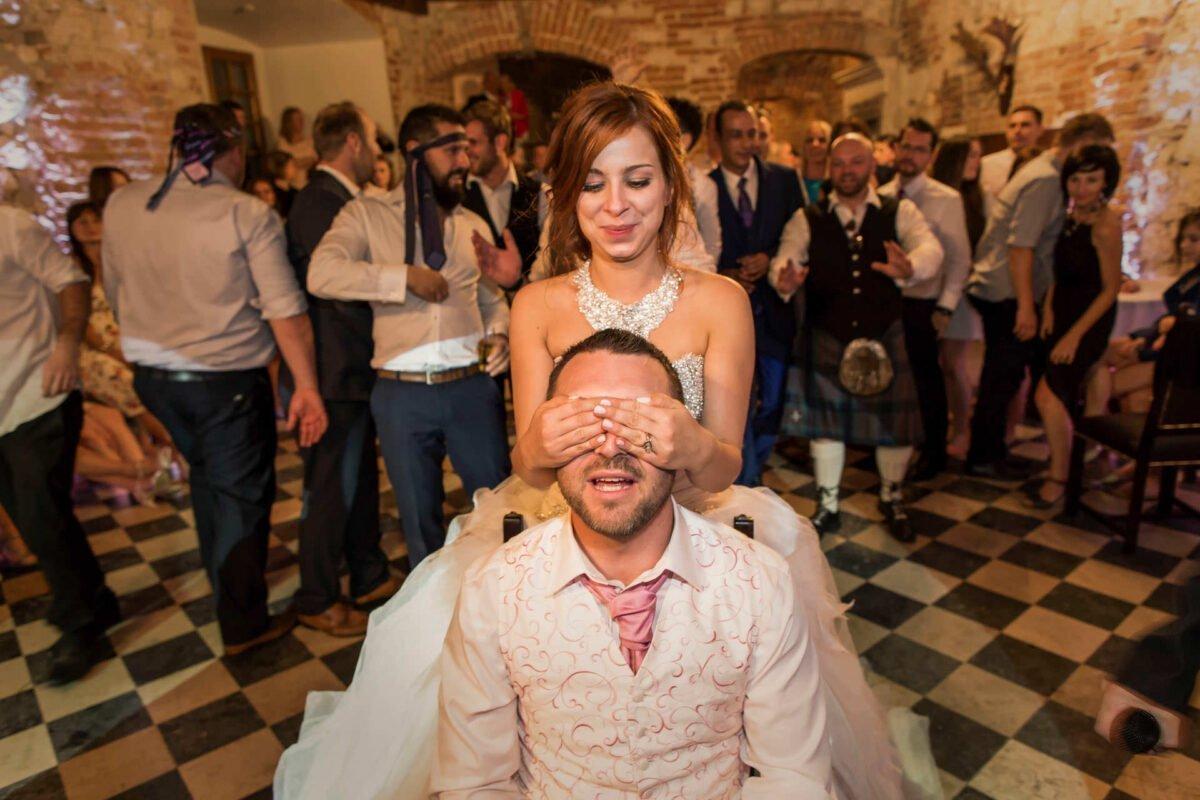 Iwona i Meehal wesele na zamku w korzkwi 0095