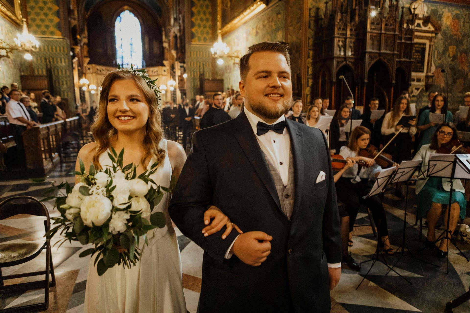 Fotograf ślubny Kraków i szczęśliwa Para Młoda - Magda i Dominik