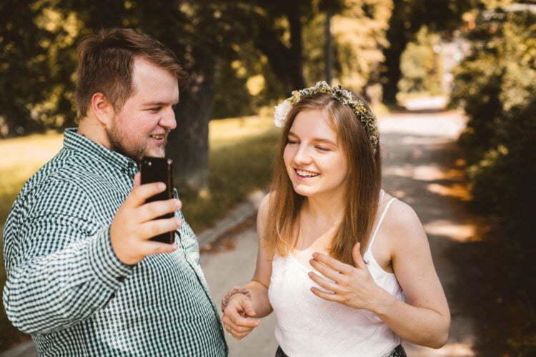 Magda i Dominik zakochani na kopcu krakusa 0002