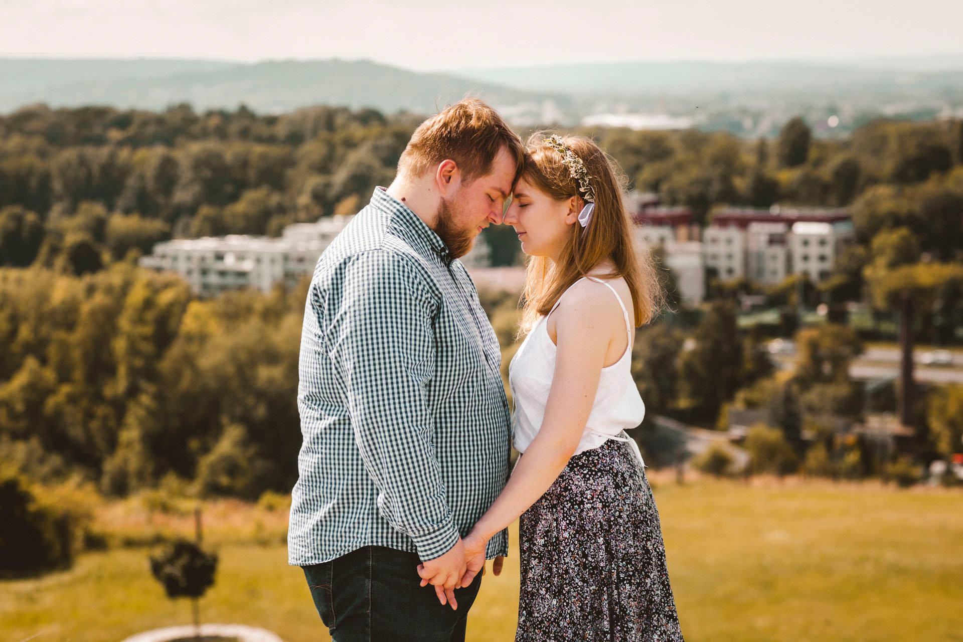 Magda i Dominik zakochani na kopcu krakusa 0045