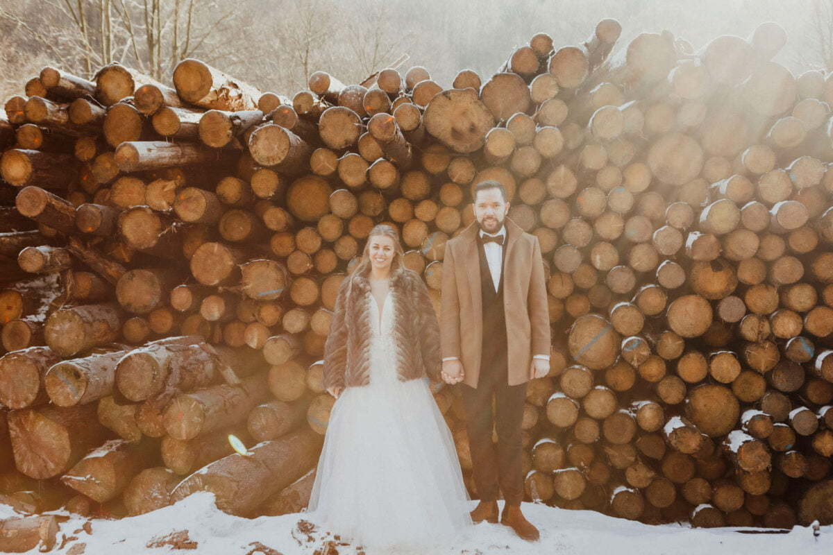 Marta i Michal zimowy plener slubny 0004