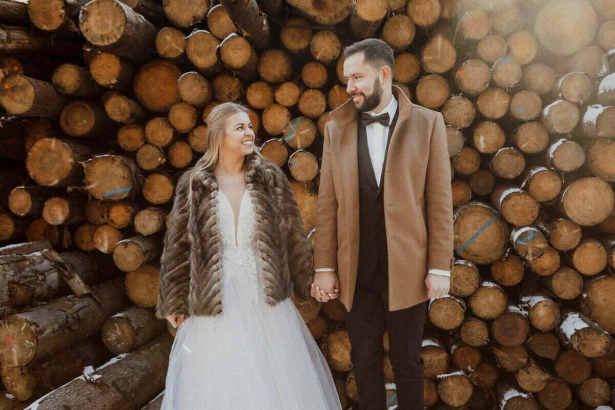 Marta i Michal zimowy plener slubny 0005