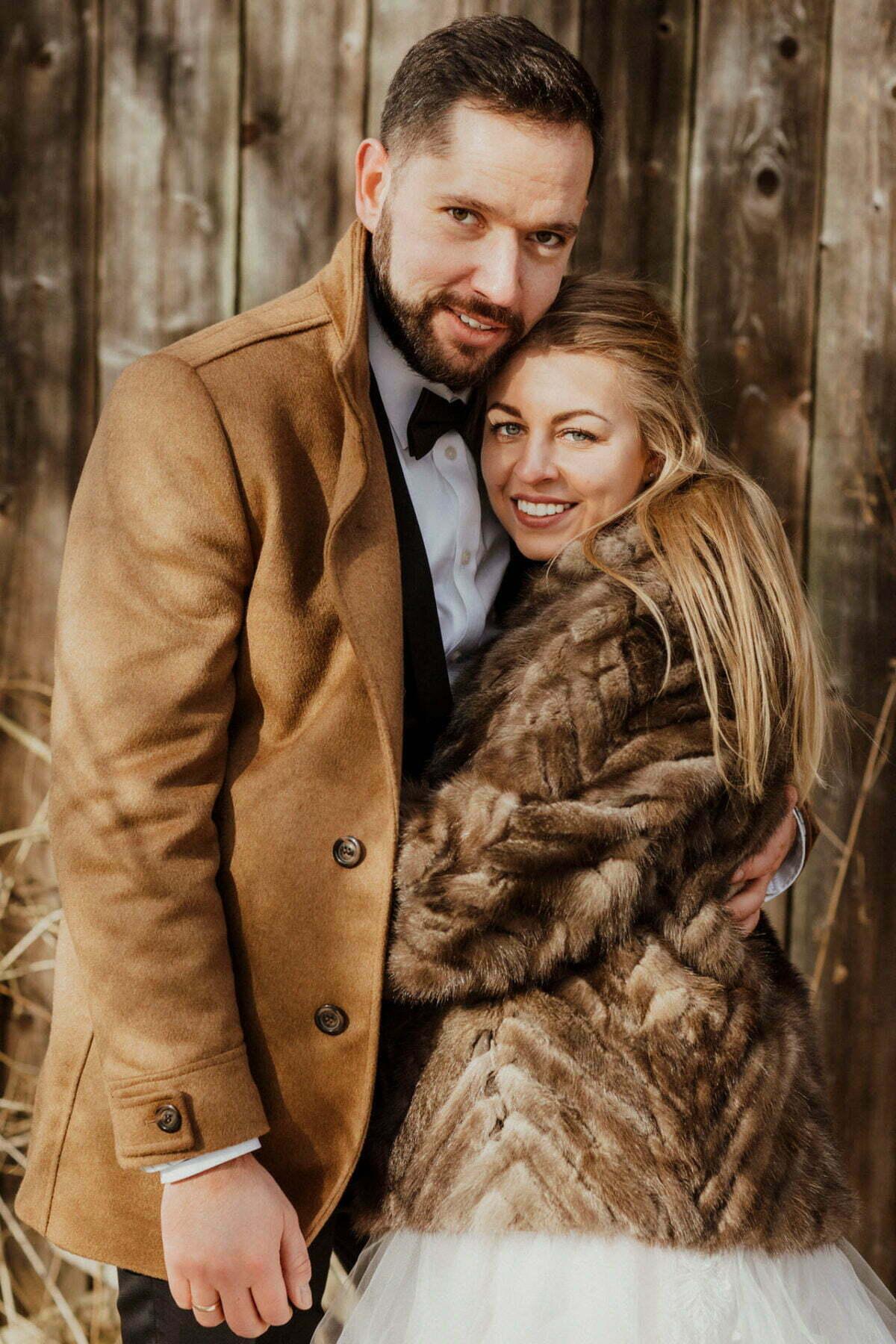 Marta i Michal zimowy plener slubny 0012