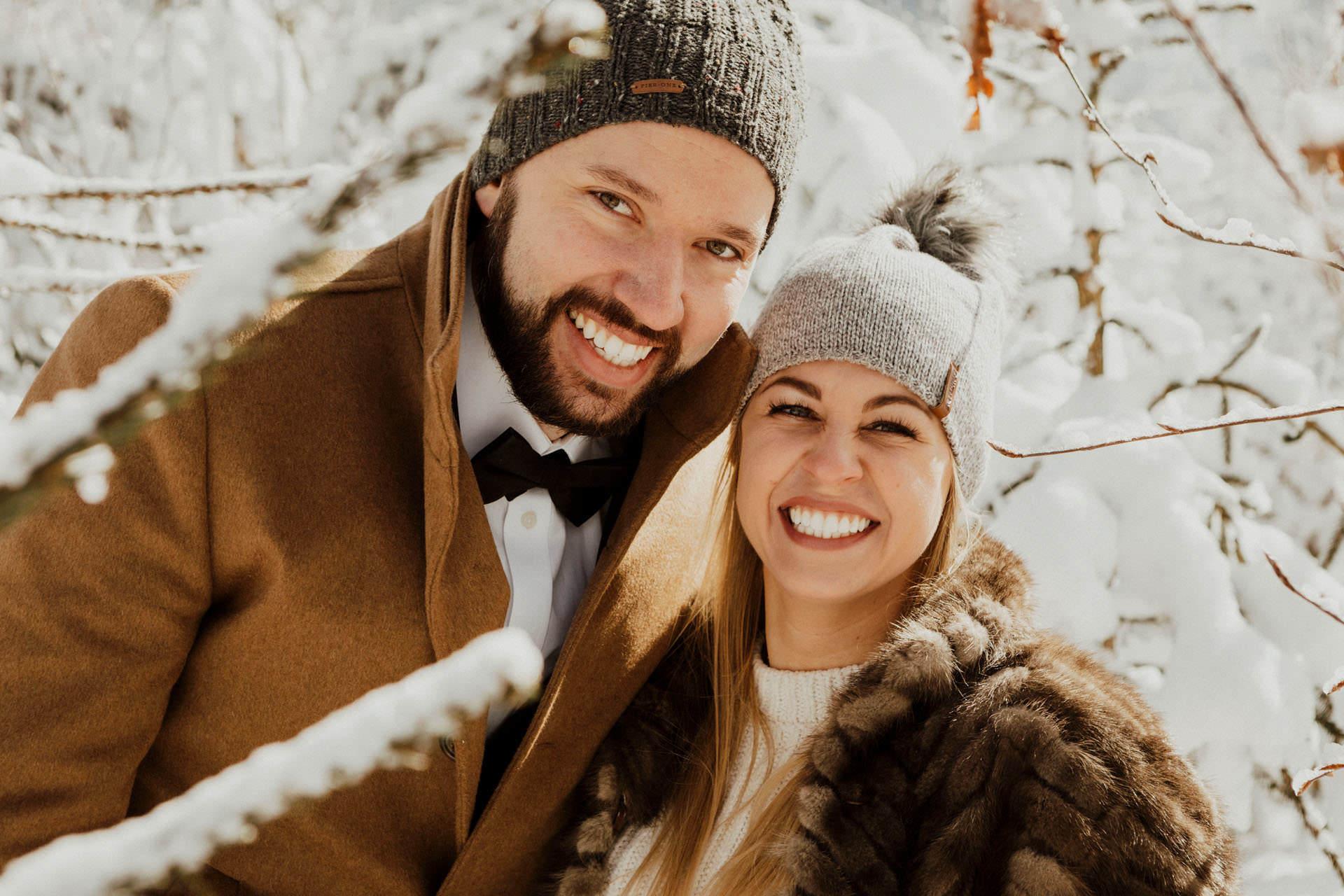 Marta i Michal zimowy plener slubny 0019