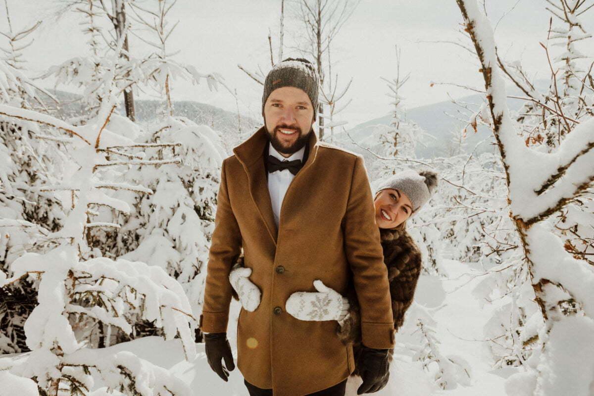 Marta i Michal zimowy plener slubny 0020