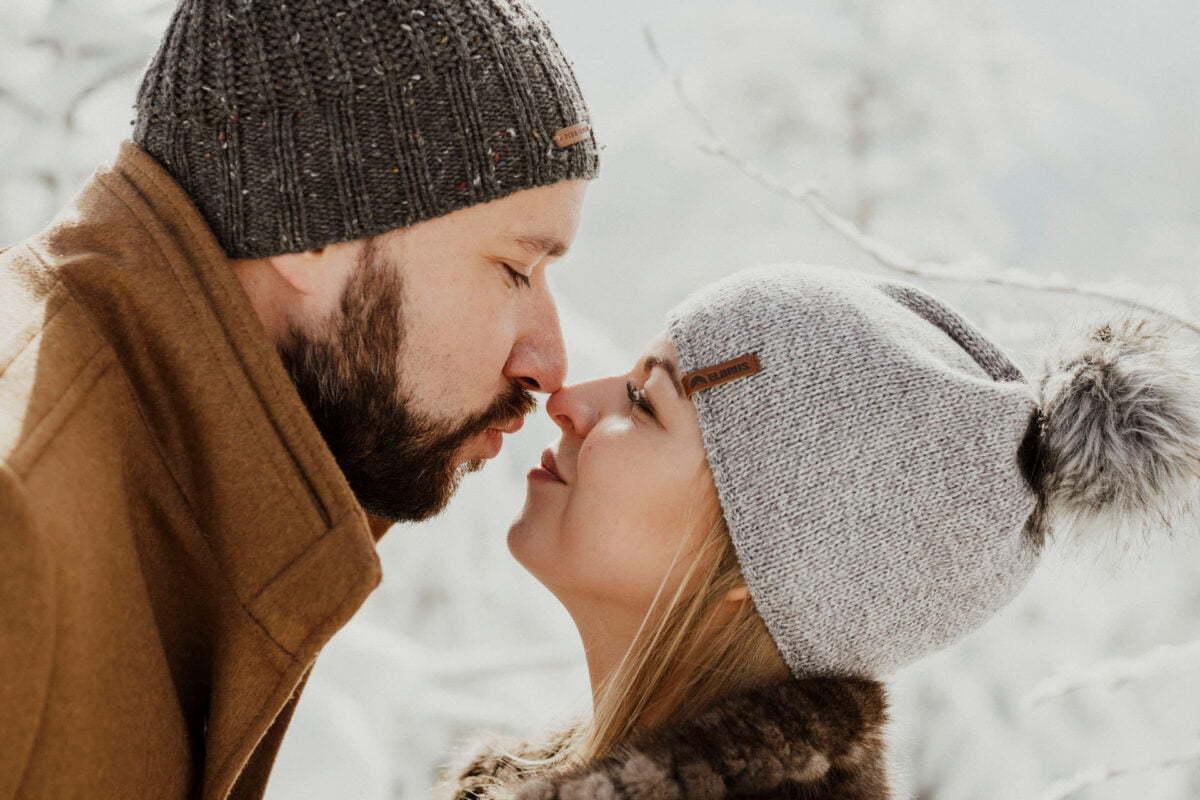 Marta i Michal zimowy plener slubny 0022