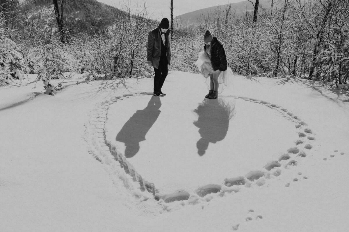 Marta i Michal zimowy plener slubny 0025