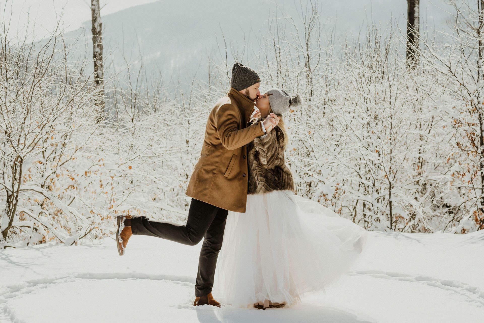Marta i Michal zimowy plener slubny 0027