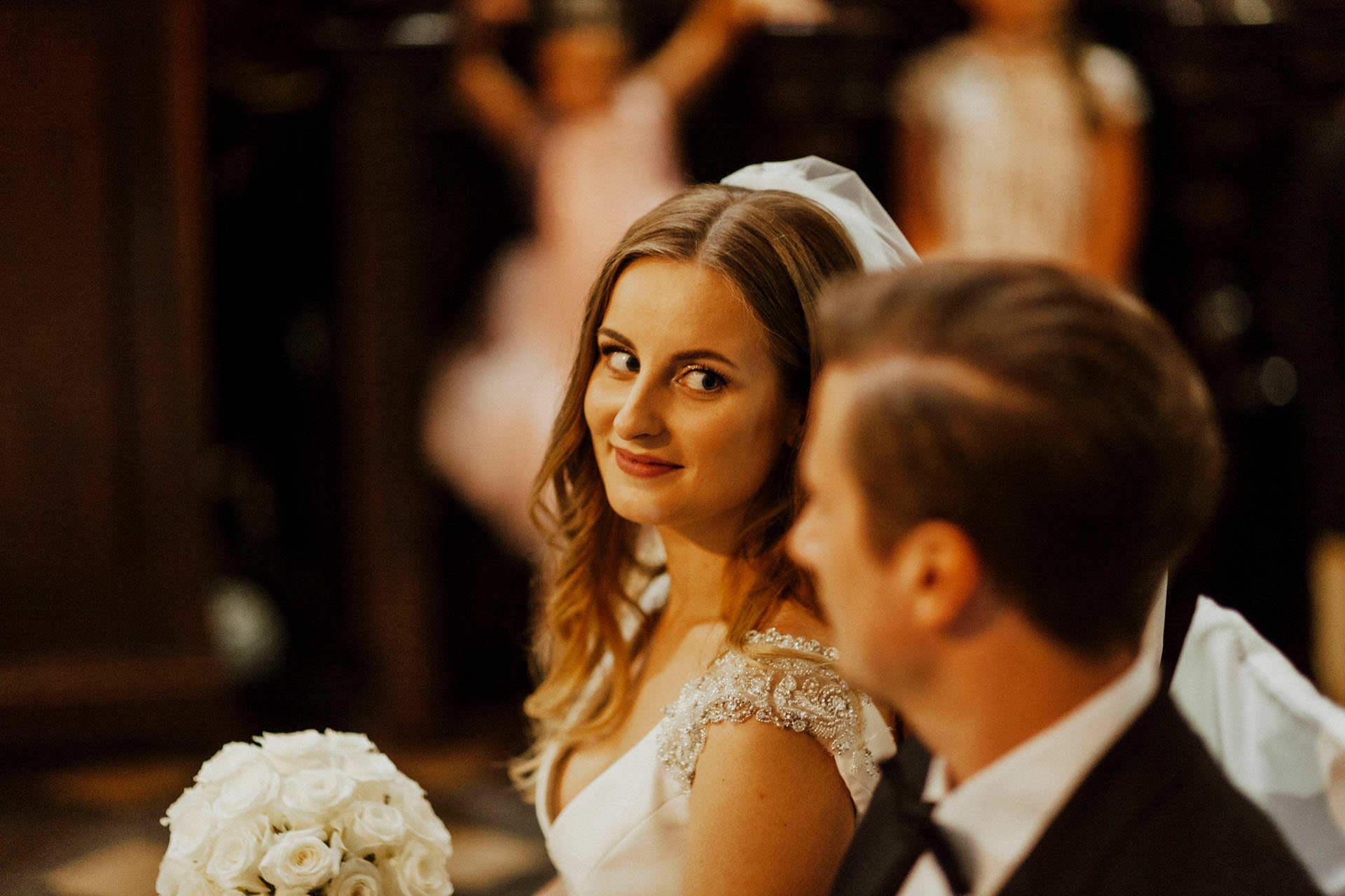 Ślub w Kościele Bożego Ciała w Krakowie - zdjęcia ślubne Kraków
