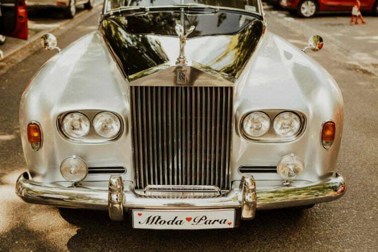 Auto do ślubu - Rolls Royce - Villa Foksal