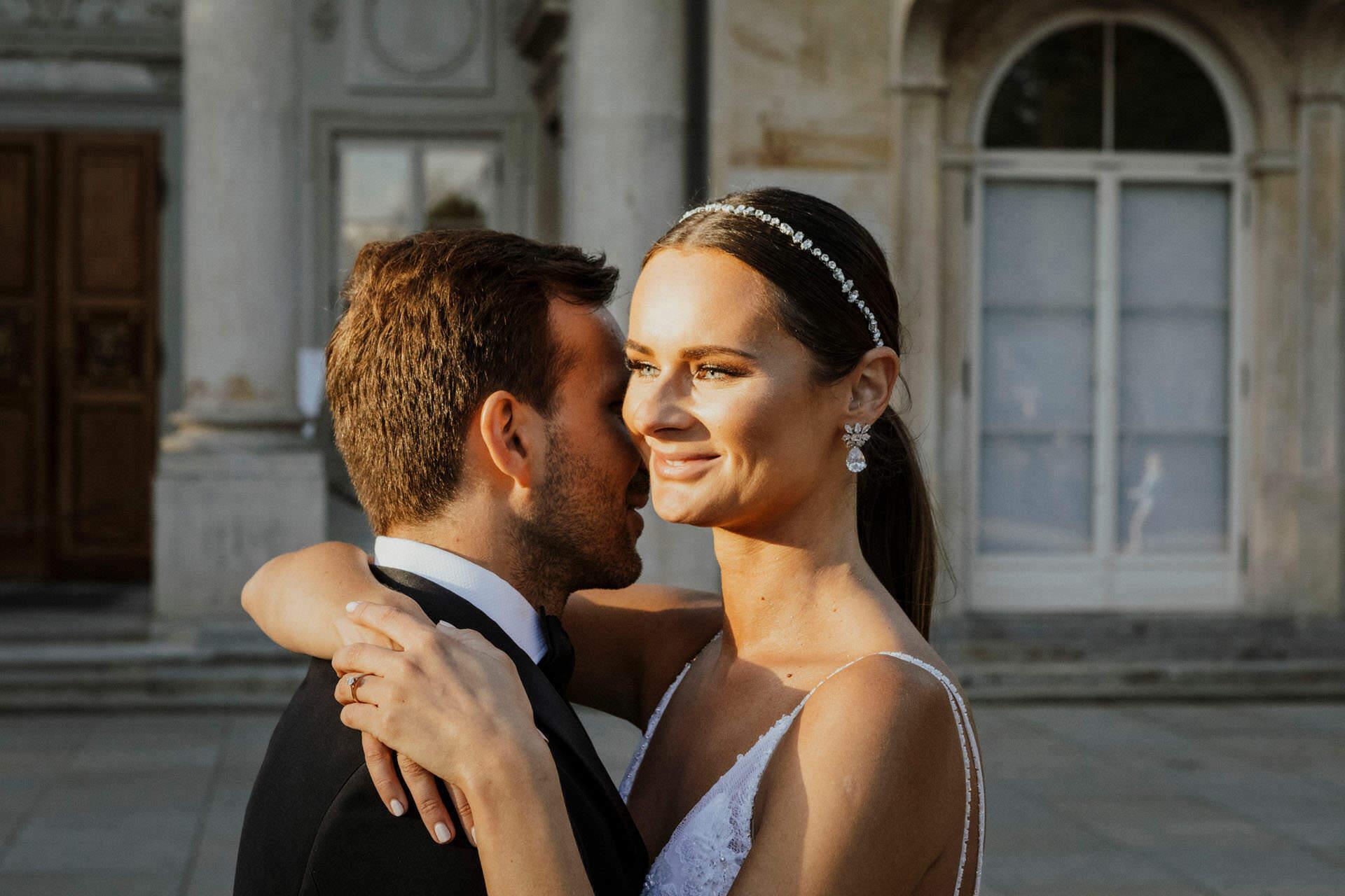 Sara i Tomek warszawski plener slubny w porsche 0059