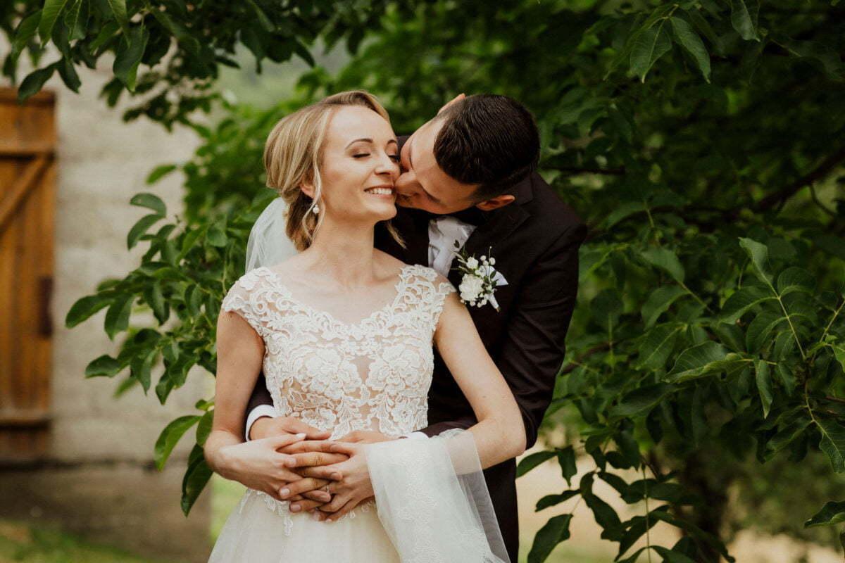 Sesja zdjęciowa w dniu ślubu