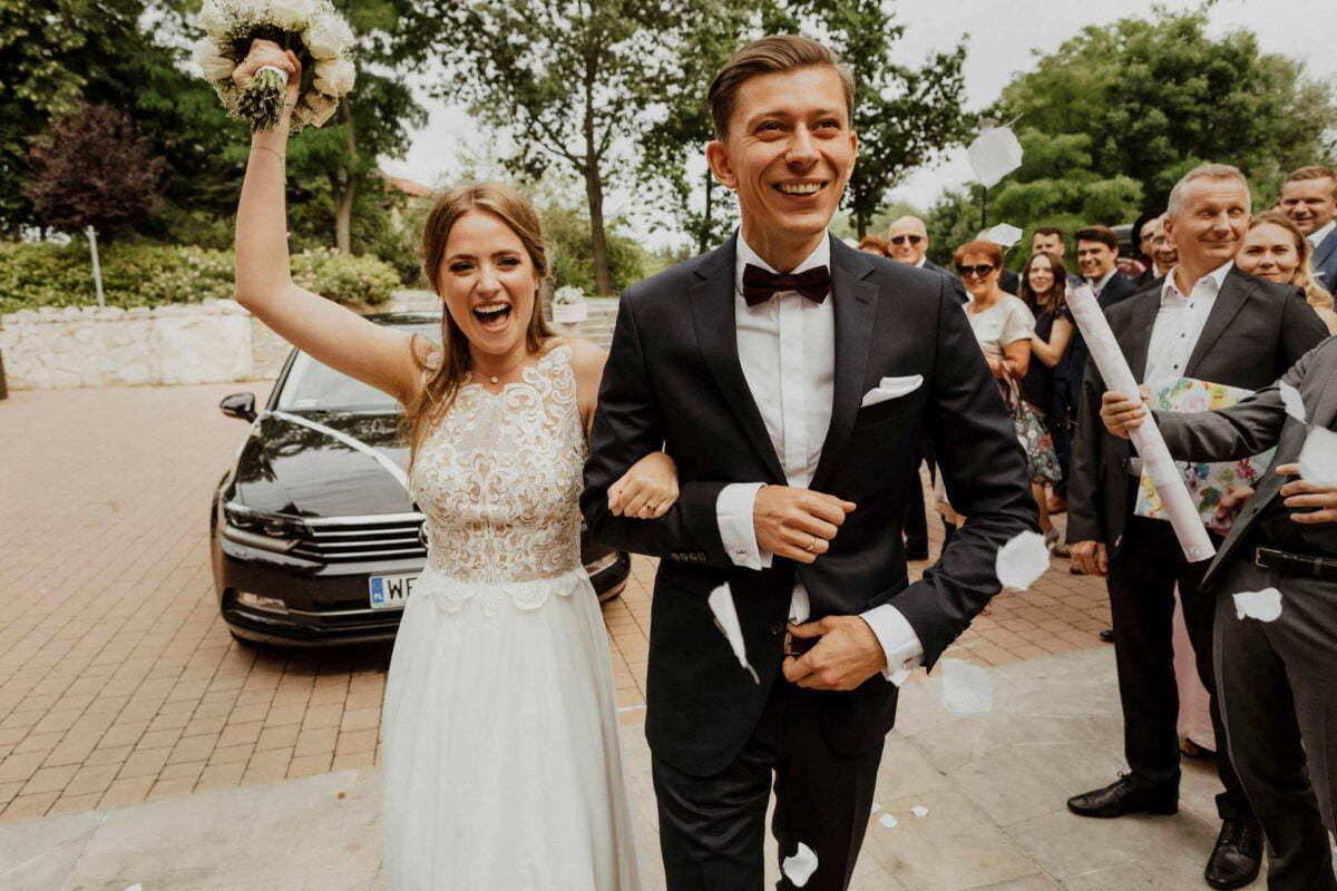 Hotel Vinnica - Para Młoda zaczyna swoje wesele