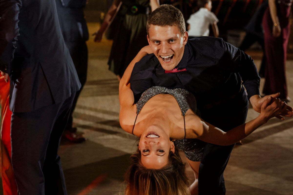 Taniec na weselu - Gościniec za Borem