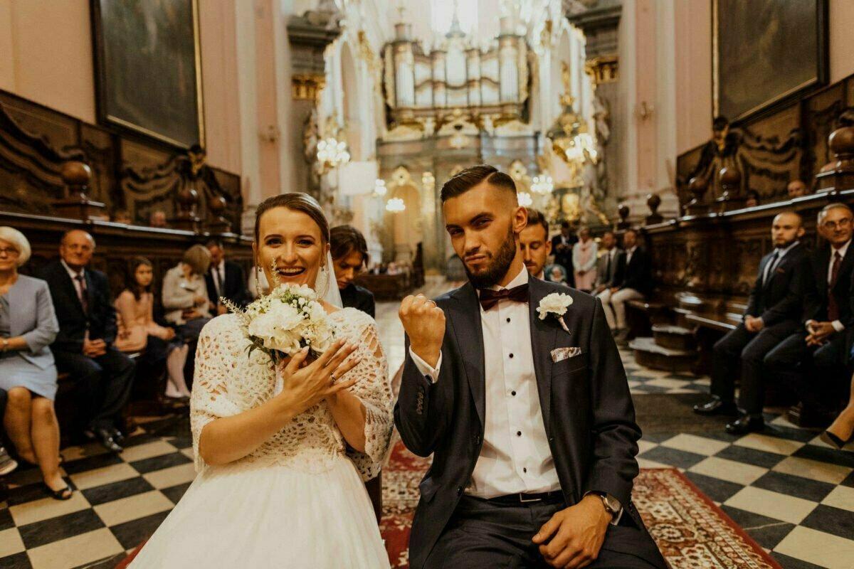 Ślub w Bazylice Grobu Bożego