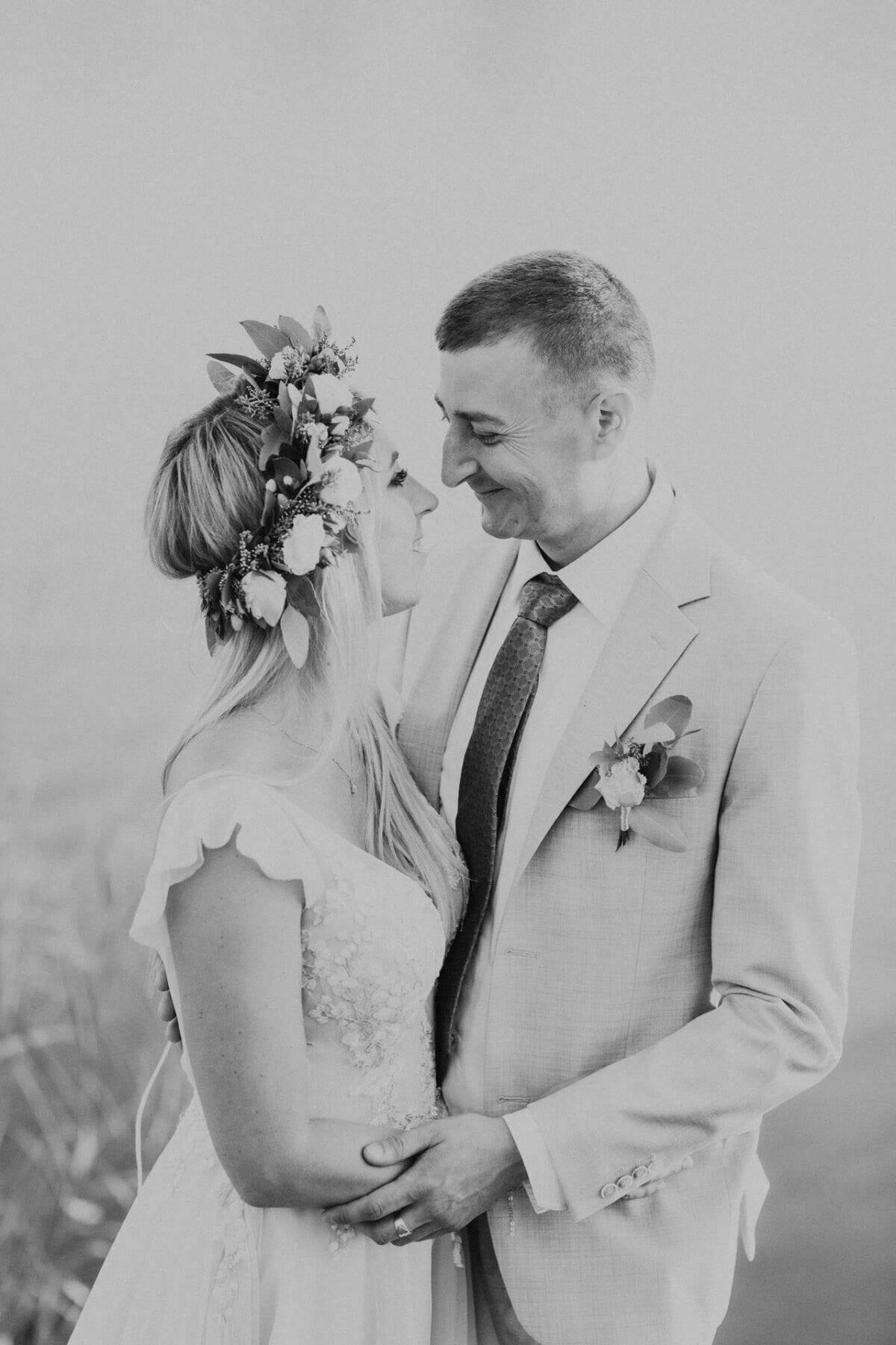 Ślubna sesja plenerowa Bagry Kraków
